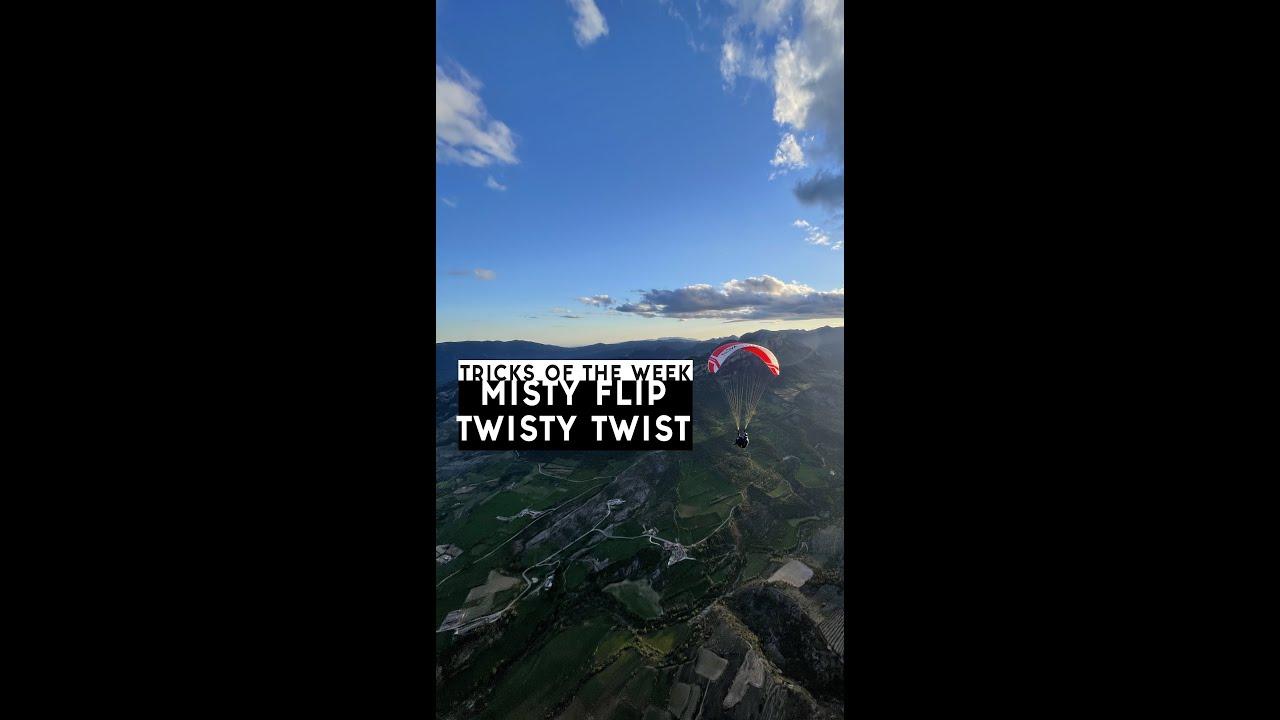 Theo's Trick of the Week #2: MISTY FLIP and TWISTY TWIST
