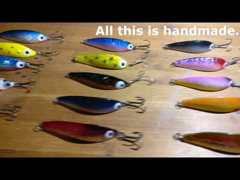 Making A Fishing Lure Spoon