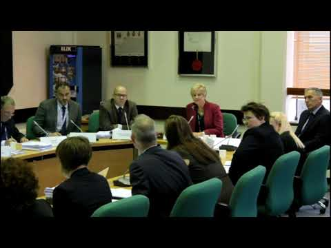 171023 Scrutiny Committee - Cllr  Martin