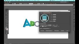 Como crear texto 3d en Adobe Illustrator