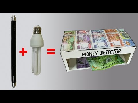 Easy to Make Money Detector || Fake Currency Detector Machine