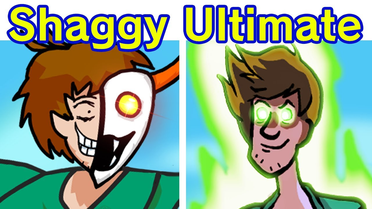 Friday Night Funkin' VS Shaggy 2.5 FULL WEEK + Cutscenes & Secret Ending [FNF MOD/Ultimate Update] - download from YouTube for free