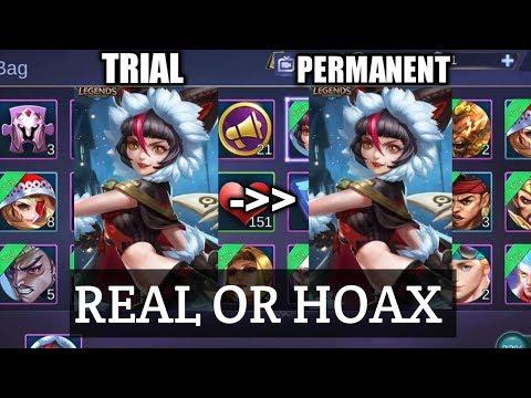Bug Skin Mobile Legends Trial Jadi Permanent?? REAL OR HOAX!!