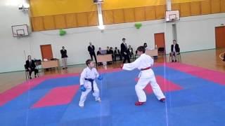 Турнир по карате , дети 8-9 лет, Штурмовая лига.