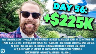 Ross Cameron makes +$225k LIVE 🙀 Day Trading from the Watch List to LIVE Trading and a Recap!