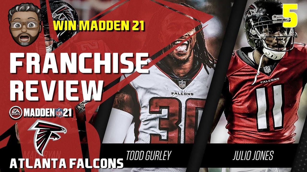 Madden Nfl 21 Franchise Team Review Atlanta Falcons Youtube