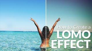 كيفية إنشاء تأثير Lomo في لايت