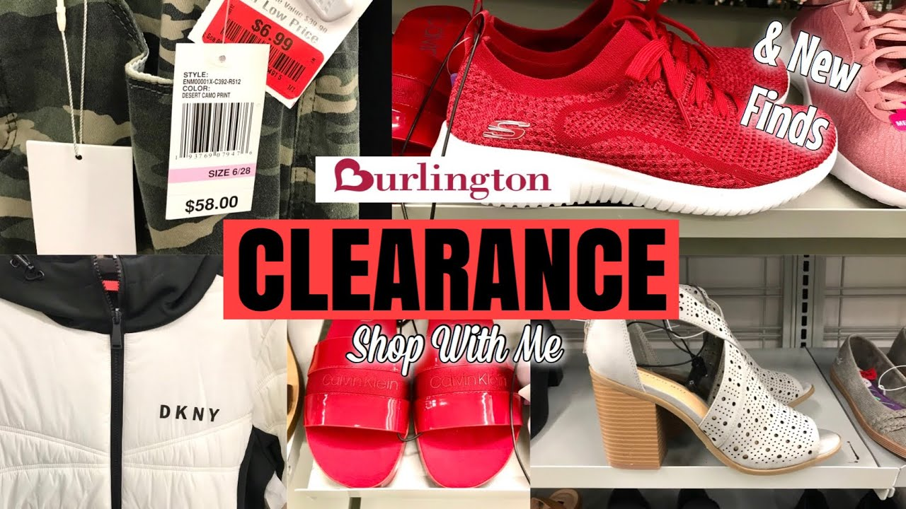 Burlington SHOP WITH ME CLEARANCE Clothes SHOES & More! NEW FINDS TOO!