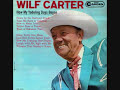 Yellow Rose Of Texas Wilf Carter