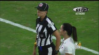 Sarah Thomas Inspires Female Officials, Makes NFL History,
