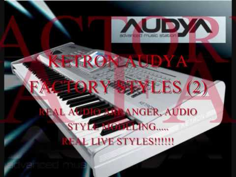 KETRON AUDYA FACTORY STYLES( 2) Greek Songs
