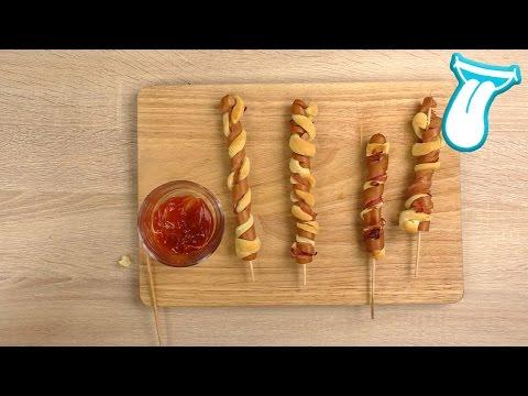 TORNADO SPECK HOT DOGS | Yoshi versucht JUNK FOOD REZEPTE nach zu kochen [FAIL] | IN ALLER MUNDE