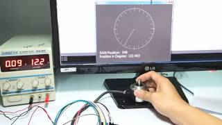 Reading Absolute Encoder with Arduino