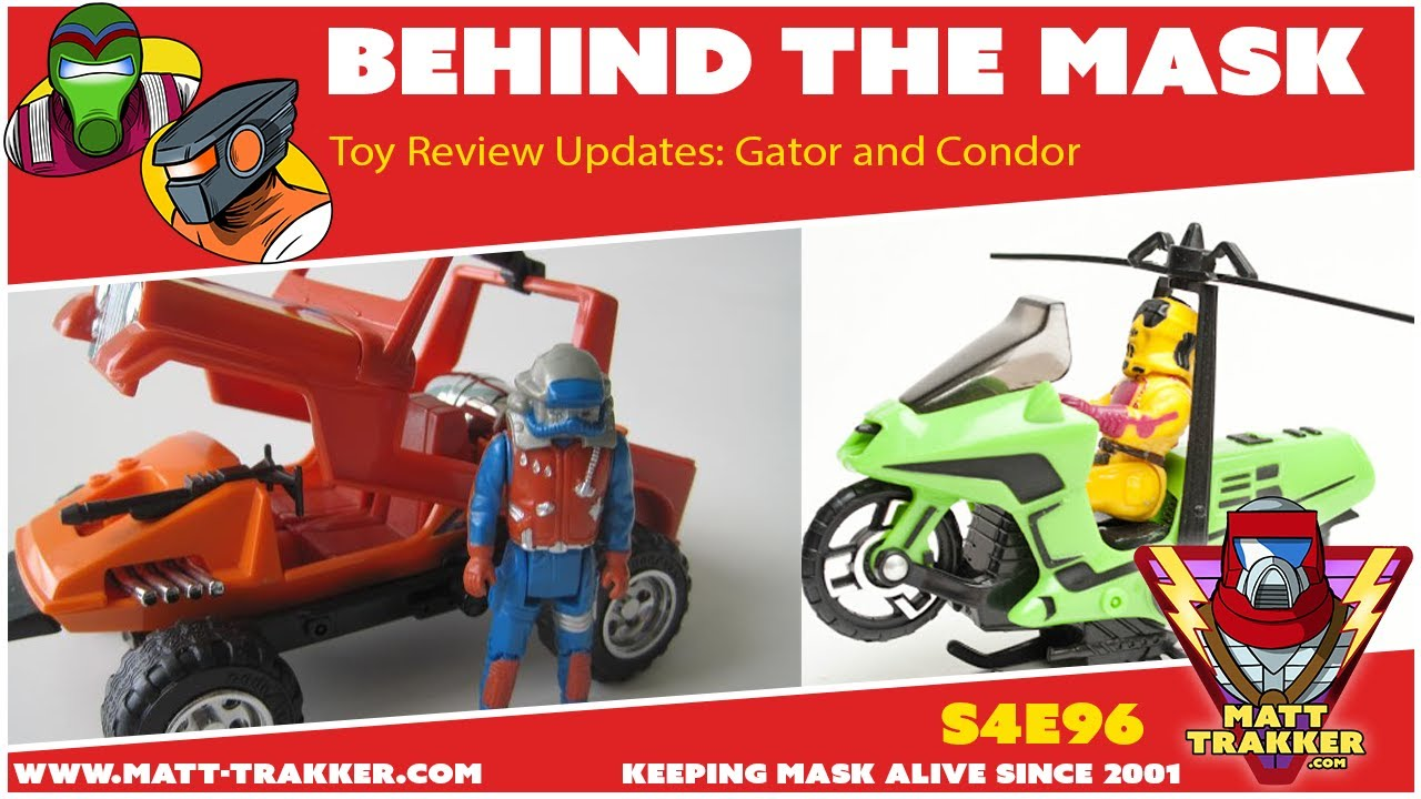 Toy Review Updates: Gator and Condor - S4E96