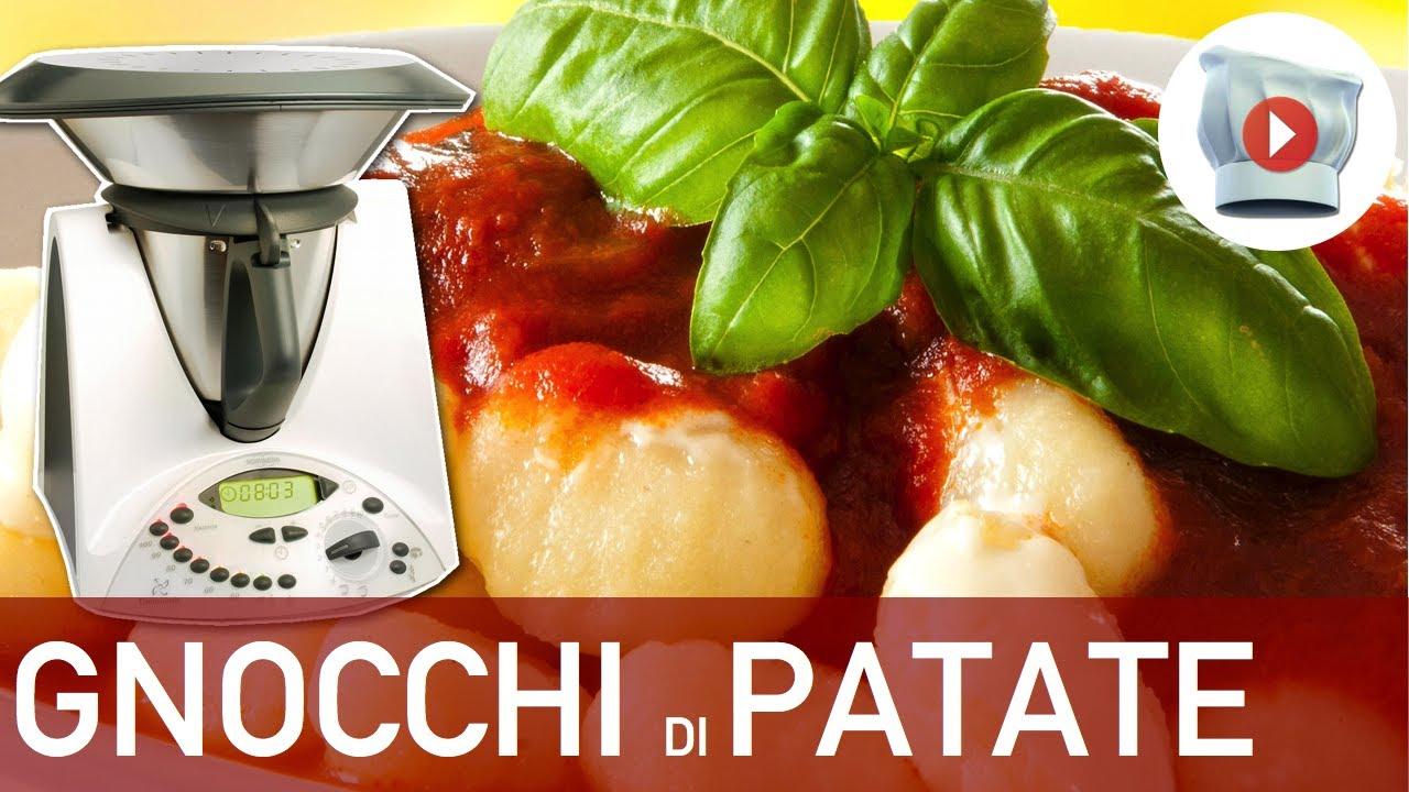 Ricetta Gnocchi Patate Viola Bimby.Gnocchi Di Patate Bimby Youtube
