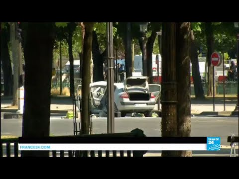 Paris Champs-Élysées Crash: Armed driver dead, situation now under control