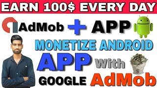 How To Monetise Android App With Google AdMob || How To Link Google Adsence with App
