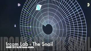 namm 2017 ircam the snail