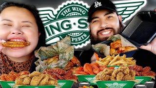 WINGSTOP MUKBANG 먹방 EATING SHOW! | CRAZY CAR ACCIDENT STOR…