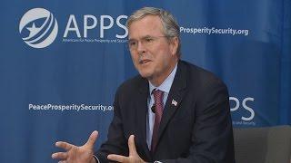 Mission Accomplished II: The Jeb Bush Doctrine