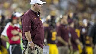 Jerry Kill Makes a Surprise Visit on the Football Machine