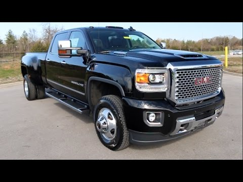 2017 gmc sierra 3500hd denali duramax crew cab 4x4 drw at. Black Bedroom Furniture Sets. Home Design Ideas