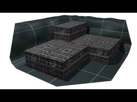 Mise En œuvre D'un Bassin En Caissons RAINBOX®3S