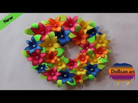 DIY-wall Hanging craft ideas | DIY Room decoration ideas | DIY christmas wreath for Home Decoration