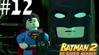 Lego Batman 2 - Walkthrough Part 12 Underground Retreat