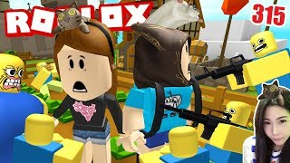 Ep.315-Roblox defend the city from the gangs DevilMeiji ft.Taoie Plaza, fresh |.