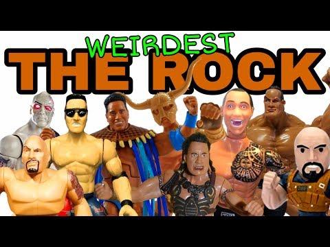 WEIRDEST ROCK WWE Action Figures