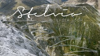 Passo dello Stelvio   The Stelvio Pass by drone   4K UHD Stilfser Joch