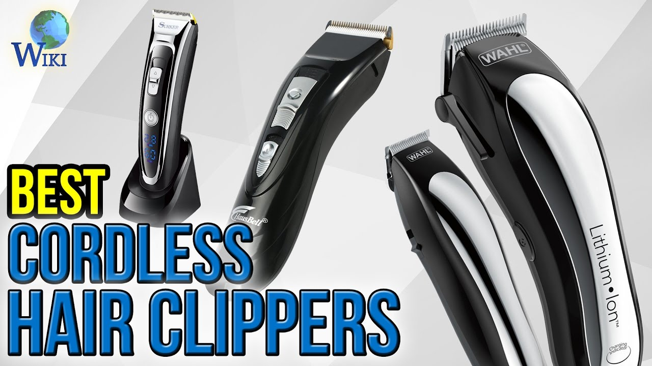 10 Best Cordless Hair Clippers 2017 Youtube