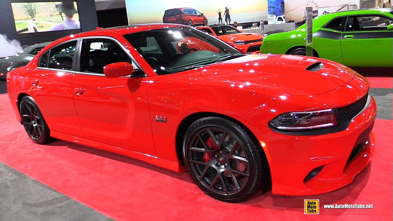 2017 Dodge Charger R T Scat Pack Exterior And Interior Walkaround