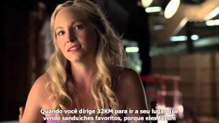 (LEGENDADO) Vídeo Especial - 6ª Temporada de Vampire Diaries - Comic Con 2014
