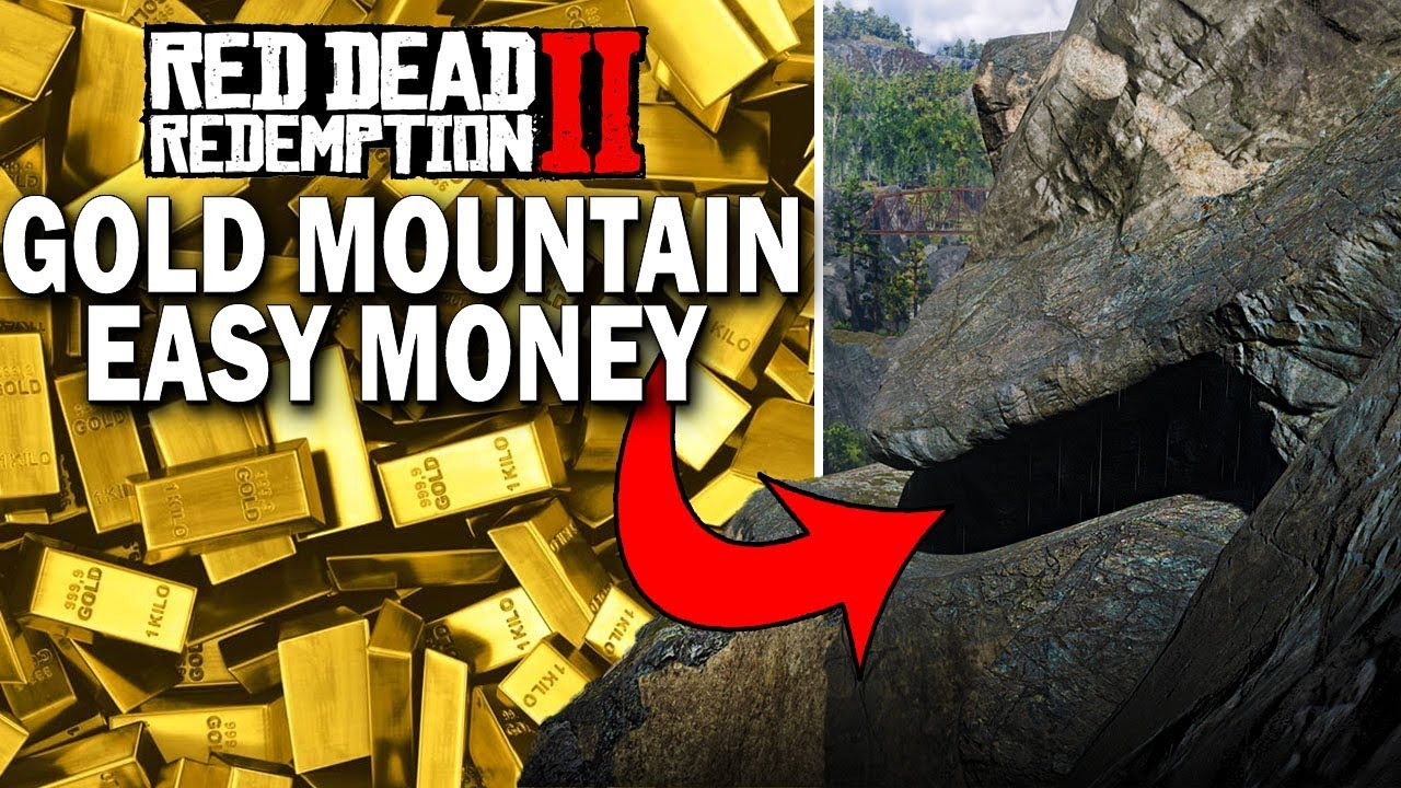 gold bars red dead redemption 2
