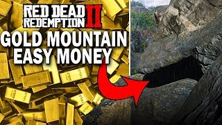 A Mountain Of Gold Bars! High Stakes Treasure Map! Red Dead Redemption 2 Easy Money [RDR2]