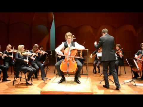 Haydn cello concerto in D major, (all movements) - Alexander Wallen live in Gothenburg 17/12 2011