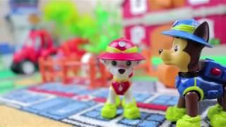Новые мультфильмы 2017 для детей про игрушки Щенячий патруль спасают животных Мультики для малышей