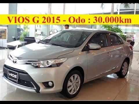 (ĐÃ BÁN) Toyota Vios G 1.5 AT 2015 Odo 30.000km CHUẨN