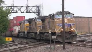 Railfanning Rochelle Davis Junction and Frogpond, IL