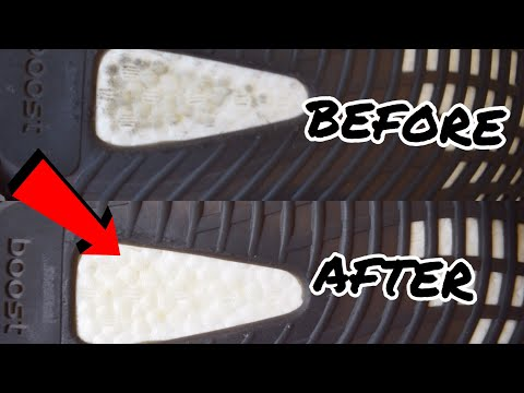 HOW TO CLEAN YEEZY BOOST 350!! (Best results)