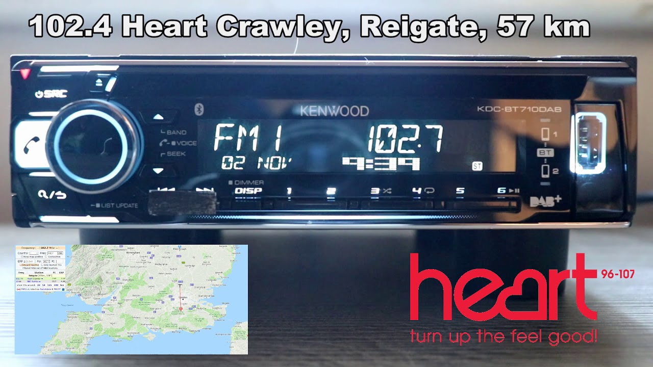 102 4, 102 7 and 103 1 Heart FM indorrs