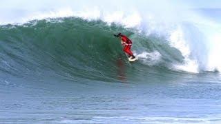 Surf - Le Père Noël Score à la Gravière (Hossegor)