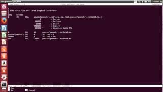 Installation et configuration d'un serveur DNS sous UBUNTU.