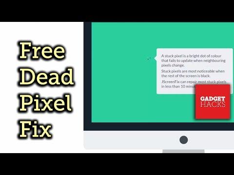 how to fix stuck pixels doovi. Black Bedroom Furniture Sets. Home Design Ideas