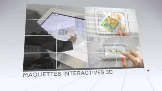 Outils 3D immobilier | Trailer V3D Immo | Film, maquette, Réalité Augmentée, Print 3D