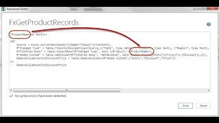 Excel Magic Trick 1347: Power Query Function: Split Master Table into Sub Tables for Each Product