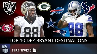Dez Bryant Rumors: Top 10 NFL Teams The Free Agent WR Could Play For In 2020