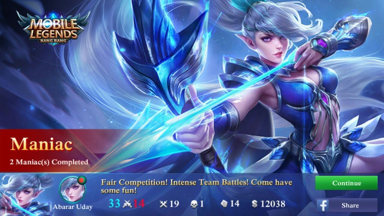 world best marksman miya is here mobile legends bang bang